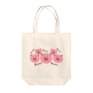 BUHi×5 Tote bags
