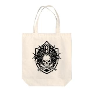 北浜標章製作所ロゴ Tote bags