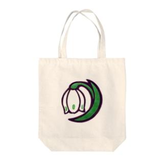 スノーフレーク Tote bags