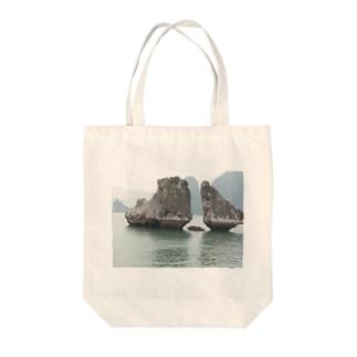 ハ・ロン湾 ベトナム Tote bags