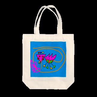SANのトリッキーくん Tote bags