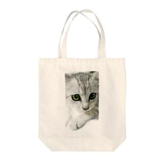 ミィ Tote bags