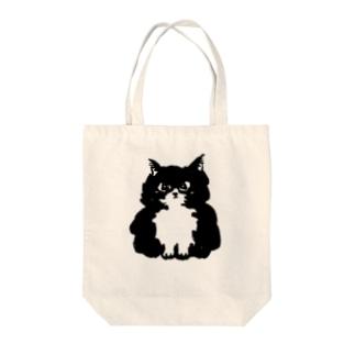 The Fluffy Cat トートバッグ