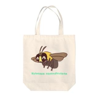 クマバチ【むしのなかま】 Tote bags
