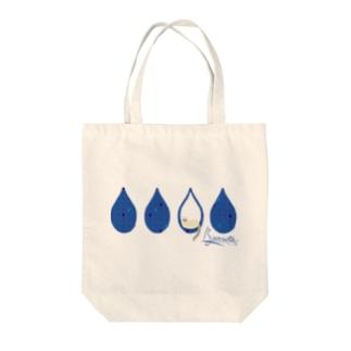 Tear Drop[Blue-Ragdoll] Tote bags