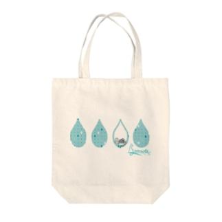 Tear Drop[LightBlue-American Shorthair] Tote bags