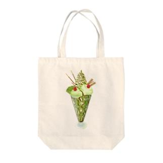 キウイパフェ チョコソース Tote bags