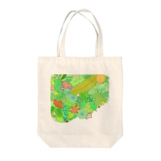 +kohの庭のハリネズミくん Tote Bag