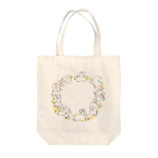 うさマシュマロココアちゃん Tote bags
