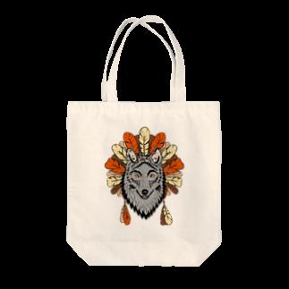 ネイティブ柄専門ショップのネイティブ柄D Tote bags