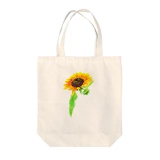 ボタニカル ひまわり Tote Bag