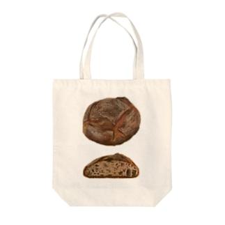 パン・オ・ルヴァン Tote bags
