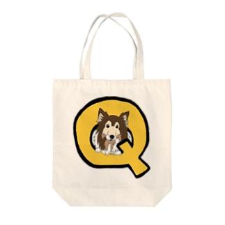 Q助くん Tote bags