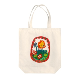 LION DRIVE Tote bags