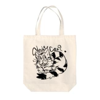 CheshireCat [Black-AmericanShorthair] Tote bags