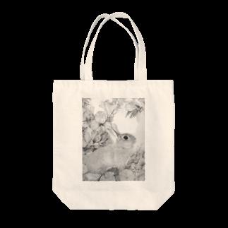ここだけの銅版画SHOPのうさぎシリーズ2 Tote bags