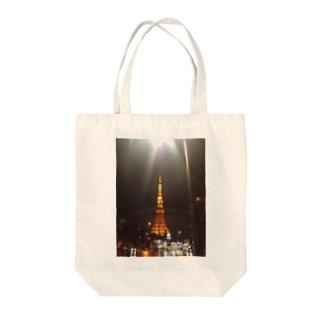 わざとらしい東京① Tote bags