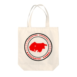 YOKOHAMA KANAZAWA FANTASTIC TOWN Tote bags
