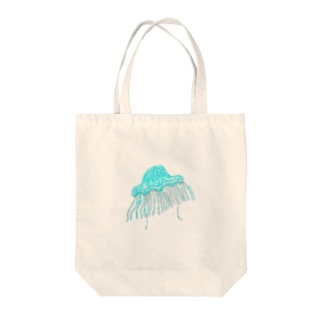 本当に居たクラゲ Tote bags