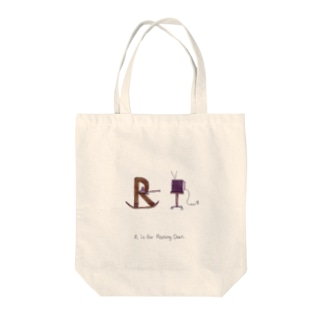R is for Rocking Chair Tote bags