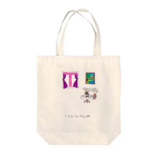 T is for Tea Party お茶会 Tote bags