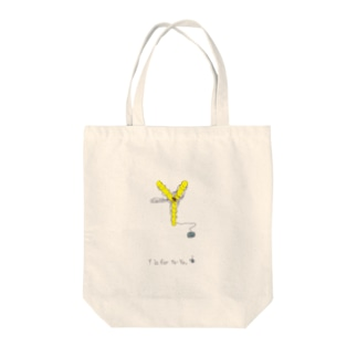 Y is for Yo-Yo ヨーヨー 蜘蛛 Tote bags