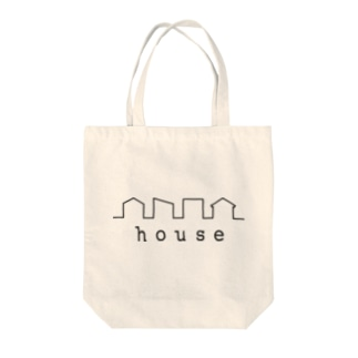 picsel house Tote bags