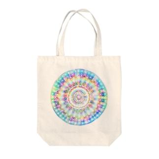 星の花かんむり Tote bags