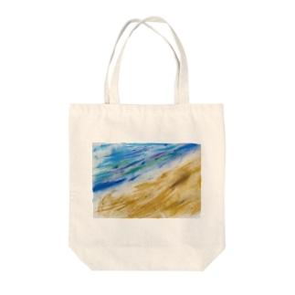 海! Tote bags