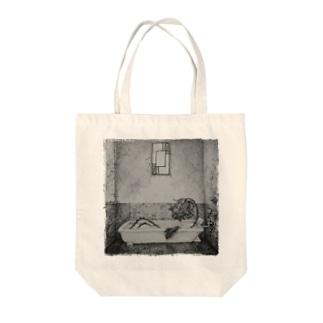 シャンソン Tote bags