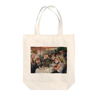 ピエール=オーギュスト・ルノワール 《舟遊びをする人々の昼食》 Tote Bag