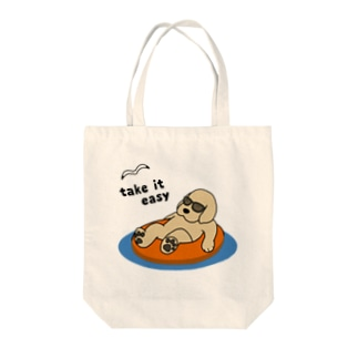 efrinmanのリラックス Tote bags