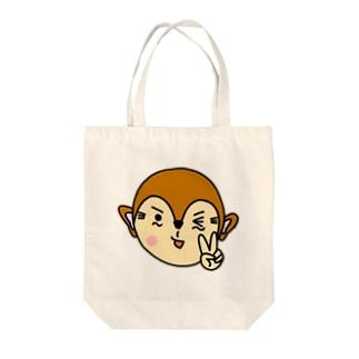 オサルのマーチのトートバッグ Tote bags