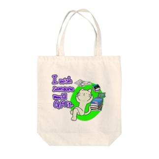 GMやってもらいたい猫 Tote bags