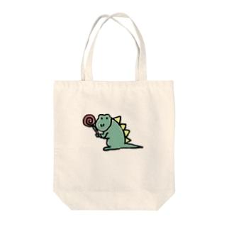 カエルくん Tote bags