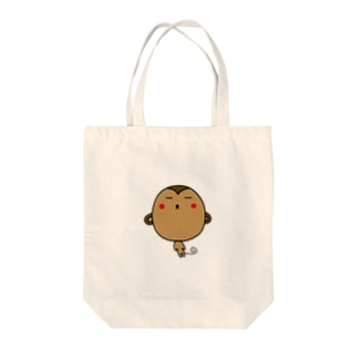 もんきーきゃちゃおの Tote bags