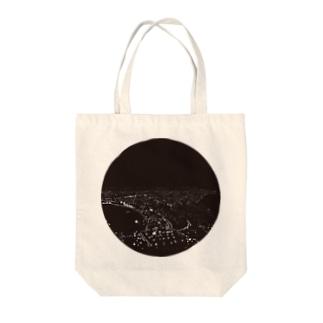Hakodate夜景 Tote bags