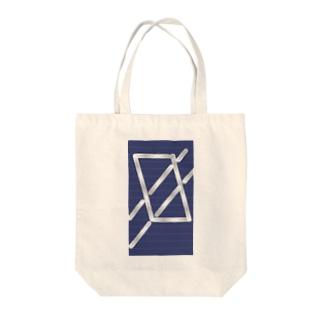 四角パターン3 Tote bags