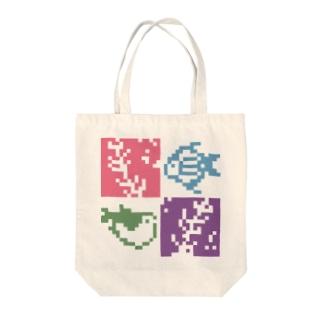サカナと海藻 Tote bags