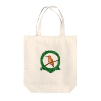 森のアカショウビン-2021 Tote bags