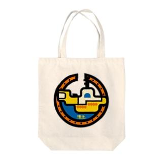 パ紋No.2916 法土 Tote bags