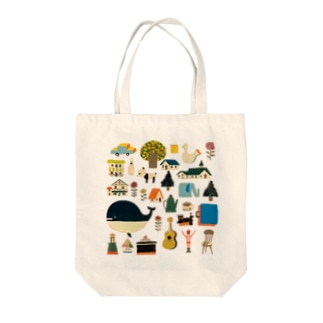 town Tote bags