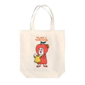 grasoann ✖️ワンコイン Tote bags