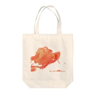 絵具 Tote bags