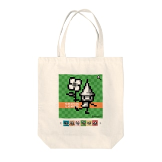 GreenLoverドッツさん Tote bags