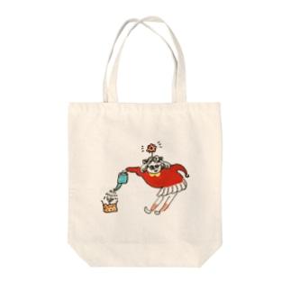 女の子ゆるイラスト Tote bags
