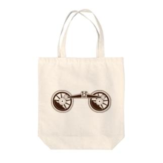 アプト式機関車動輪 Tote bags