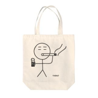 TABAO(ビール) Tote bags