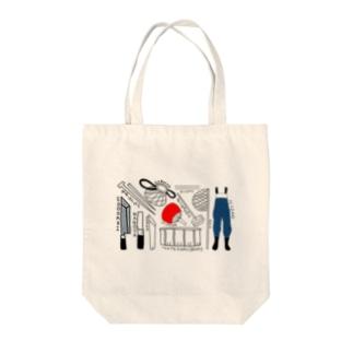 うなぎの達人 Tote bags