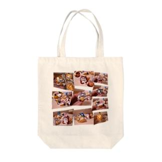 獅子沖縄の福猫庵グッズ Tote bags